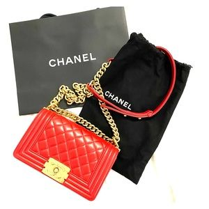 Chanel Small Boy Shoulder Bag